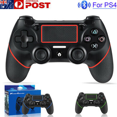 AU52.99 • Buy For PS4 Wireless Bluetooth Dual Shock Controller Gamepad Joystick PlayStation 4