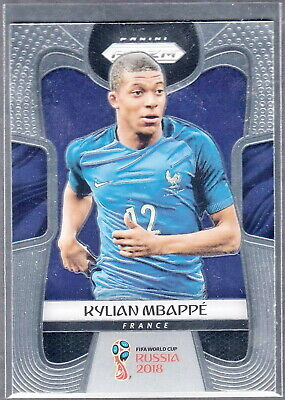 $ CDN102.59 • Buy Kylian Mbappe France 2018 Panini World Cup Prizm Rookie RC Base #80