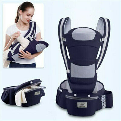 0-48M Ergonomic Baby Carrier Infant-Baby Hipseat Carrier Front Facing Kangaroo • 29.99£