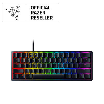 AU219 • Buy Razer Huntsman Mini Mechanical Gaming Keyboard- Clicky Optical Switches