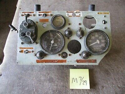 $99 • Buy Used Fair Cond Instrument Panel, 24v, M113 APC Missing/Damaged Parts, Some Good
