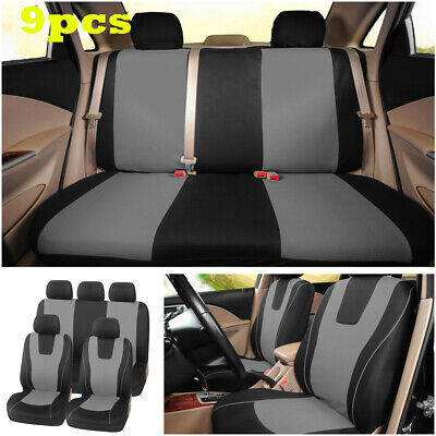 $ CDN33.96 • Buy Car Front Rear Seat Cover Seat Cushion Protector Fits For Standard 5-Seats Car