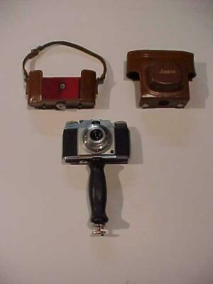OLD AGFA ANSCO APOTAR 35mm FILM PHOTO CAMERA & ORIG CASE VINTAGE MADE IN GERMANY • 32.50£