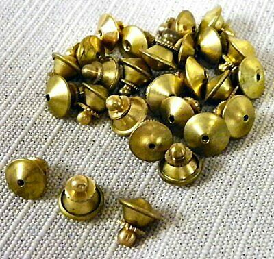 $12.99 • Buy 25 Gold Locking Style Clutch Pin Clasp Military, Police And Tie Tack