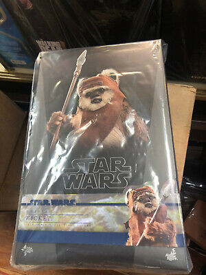 $230 • Buy Hot Toys Star Wars Episode VI WICKET 1/6 Scale Figure MMS550 NEW