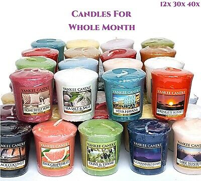 Official Yankee Candle Classic Votive Sampler Mini Candles Gift Up To 40x New • 19.99£