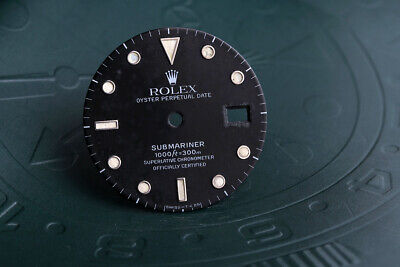 $ CDN328.95 • Buy Rolex Submariner Black T<25 Dial For 16800 - 16610 Some Damage FCD10483