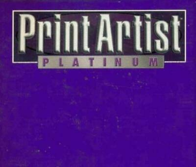Print Artist Platinum 4.5 PC CD Create Greeting Cards Publishing Projects! 7CDs • 17.23£