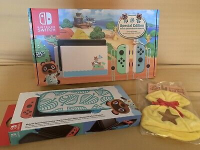 $ CDN939.74 • Buy ⭐️ Nintendo Switch Animal Crossing New Horizons Console SPECIALEdition + XTRA! ⭐