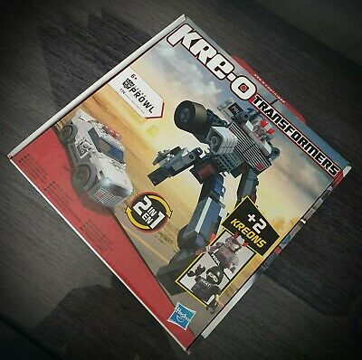 NEW KREO Transformers PROWL 2 In 1 Construction Toy Figure Set 30690 Hasbro • 18£