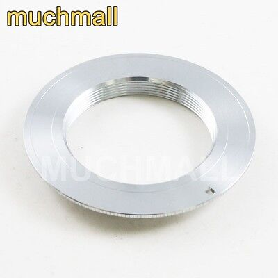 $5.50 • Buy M42 Screw Lens To Canon EOS EF Mount Adapter Silver Non-Flange 700D 70D 5D III