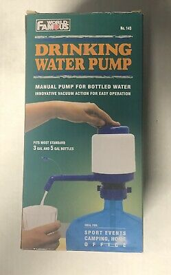 $ CDN9.99 • Buy World Famous Manual Drinking Water Pump New In Box Fits 3 & 5 Gallon Bottles
