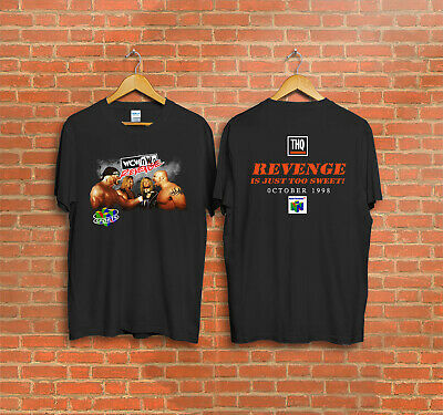 $ CDN31.33 • Buy Vintage 1998 WCW NWo Revenge Shirt XL Nintendo 64 Goldberg T-Shirt