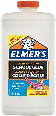 AU39.99 • Buy Elmers Slime Elmer's Liquid PVA Glue | Great For Making Slime | Washable | 946 M