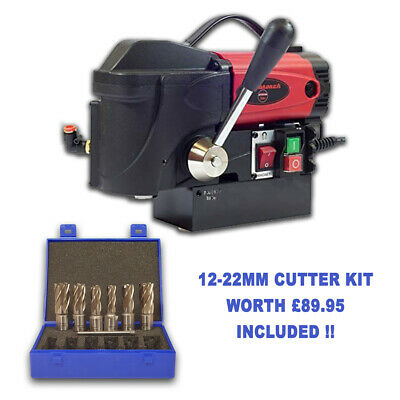 Rotabroach Adder Low Profile Magnetic Drilling Machine 240v + Free Cutter Kit • 450£