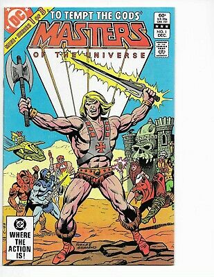 $23 • Buy Masters Of The Universe #1 (He-Man) - DC - Great Condition/Hi-Res Scan