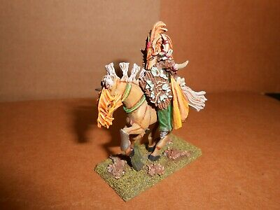 $25 • Buy WARHAMMER AOS SYLVANETH Wood Elves HIGH BORN LORD ON STEED WITH SWORD 00P