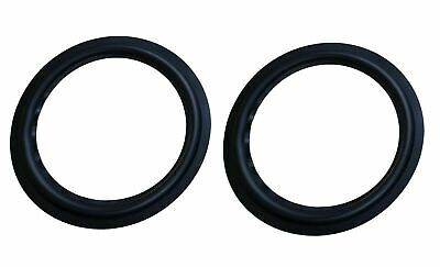 $ CDN13.11 • Buy 8  Butyl RUBBER Speaker Surround Pair For Repair Sub Woofer Subwoofer