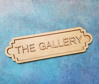 £5.99 • Buy Personalised Sign Any Text Wooden Door Wall Plaque Room Name Home Decoration S2