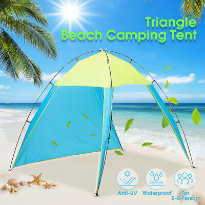 AU21.59 • Buy AU 5-8 Person Portable Outdoor Beach Canopy  Sun Shade Shelter Camping   ρ _