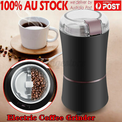 AU29.21 • Buy AU 400W Electric Coffee Mill Grinder Beans Spices Herb Nuts Grinding Machine ぅ