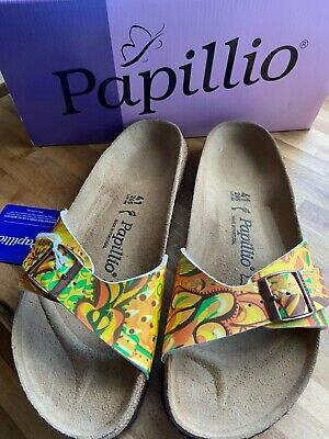 Birkenstock Papillio Madrid African Wax Gold Sandal Narrow Fit Size 7.5eu 41 New • 44£