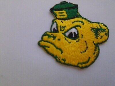 $3.25 • Buy University Of Baylor Vintage Embroidered Iron On Patch  3  X 3