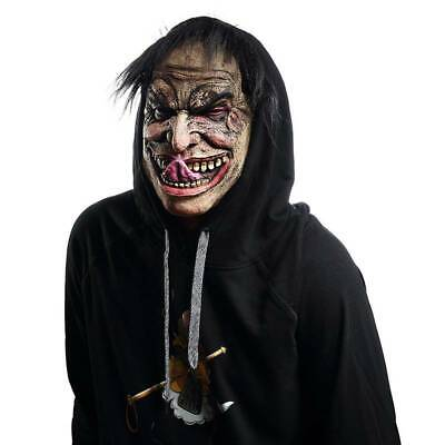 $ CDN10.35 • Buy  Scary Clown Cover Adult Latex Halloween Evil Playing Props Halloween Latex LC