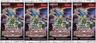 YuGiOh! Battles Of Legend: Armageddon 1st Edition Booster Packs X4 :: New And Se • 20.79£