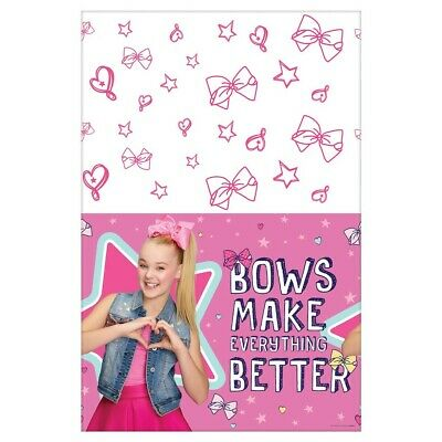 AU4 • Buy JOJO SIWA Birthday Party Supplies PAPER TableCloth Table Cover