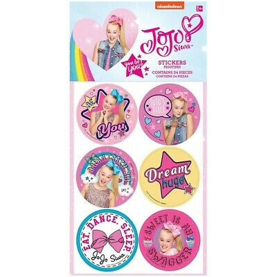 AU3 • Buy JoJo Siwa Stickers Pk 24