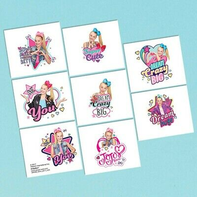 AU2 • Buy Jojo Siwa Tattoo Sheet