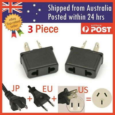 AU7.99 • Buy 3PCS US EU USA CHINA To AU Australia Plug AC DC Power Adapter Travel Converter