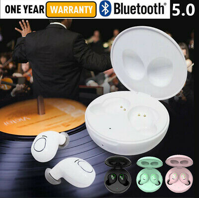 AU23.99 • Buy Wireless Bluetooth Earphones Headphones Earbuds For Apple IPhone Samsung Android