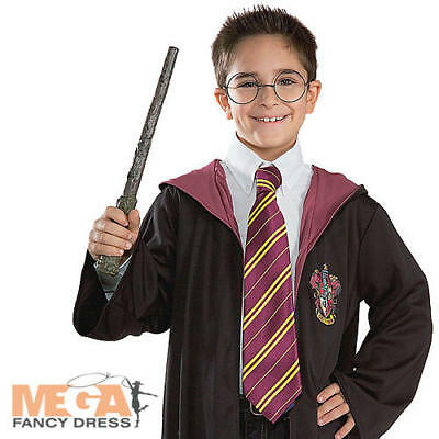 $ CDN17.62 • Buy Harry Potter Tie Fancy Dress Book Week Kids Childrens Costume Outfit Accessory
