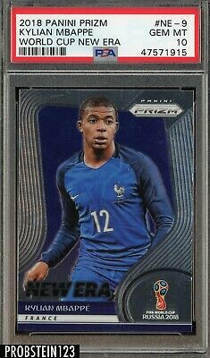 $ CDN408.15 • Buy 2018 Panini Prizm World Cup Soccer New Era Kylian Mbappe RC Rookie PSA 10