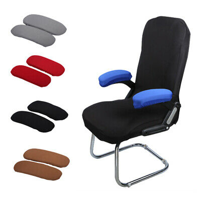 AU4.99 • Buy 1Pairs Office Chair Armrest Covers Removable Arm Rest Stretch Protector Cover