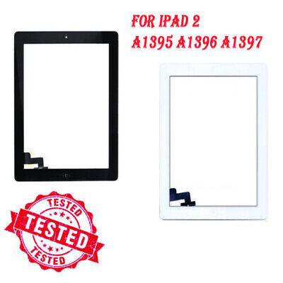 £7.99 • Buy For IPad 2 A1395 A1396 A1397 Touch Screen Black White Digitizer Replacement IC