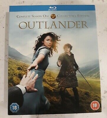 AU39.50 • Buy Outlander Season1 Bluray Collectors Edition Like New Colour Book And Photo Cards