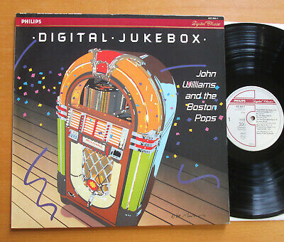 422 064-1 Digital Jukebox John Williams Boston Pops 1988 NEAR MINT Philips LP • 9.99£