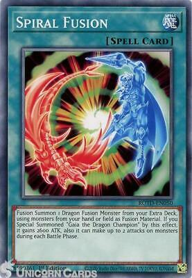 ROTD-EN050 Spiral Fusion Common 1st Edition Mint YuGiOh Card • 0.99£