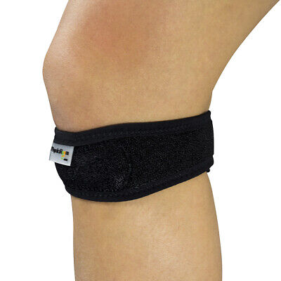 Adjustable Patella Tendon Knee Support Strap For Relief From Pain & Runners Knee • 3.49£