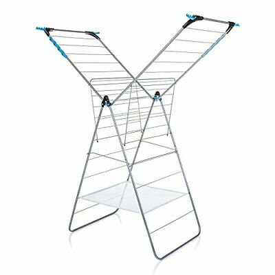 Minky Extra Wing Indoor Airer With 24 M Drying Space, Metal,  Assorted Sizes  • 33.16£
