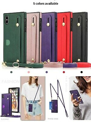 AU10.45 • Buy Women Leather Wallet Crossbody With Strap Case Card Holder For IPhone/Samsung
