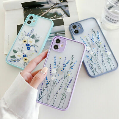 AU8.99 • Buy For IPhone 11 Pro Max XS XR X 8 7 Plus SE 2020 Flower Leaf Hard Phone Case Cover