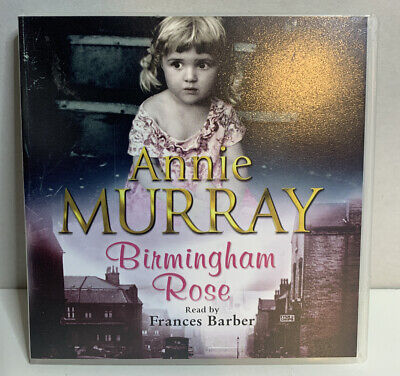 Birmingham Rose - Annie Murray | 3 Disc Story Audio Cd | Read By Francis Barber • 5.49£
