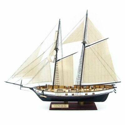 DIY Ship Assembly Model Kits Classical Wooden Sailing Boat Home Decoration Gift • 19.99£