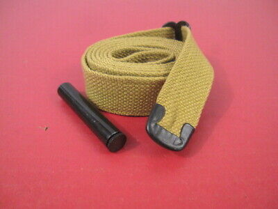 $19.99 • Buy WWII US GI M1 Carbine C-Tip Khaki Canvas Sling W/Oiler Dated 1942 - Reproduction