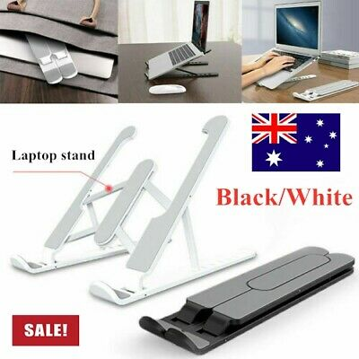AU22.79 • Buy Adjustable Folding Aluminum Tablet Bracket Mount Desktop Laptop Stand Holder AU❀