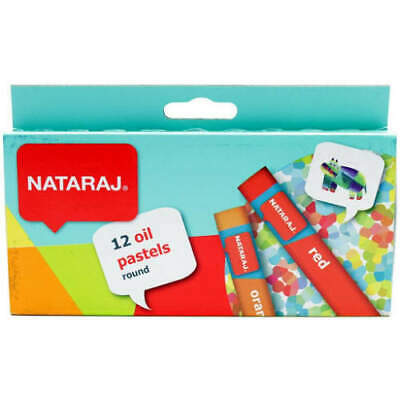 Oil Pastels By Hindustan Pencil's Nataraj - Pack Of 12 (round) • 2.79£
